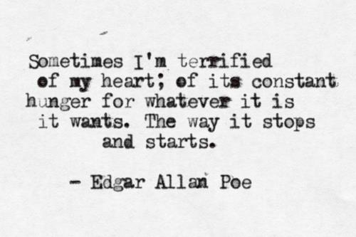 terrified of my heart
